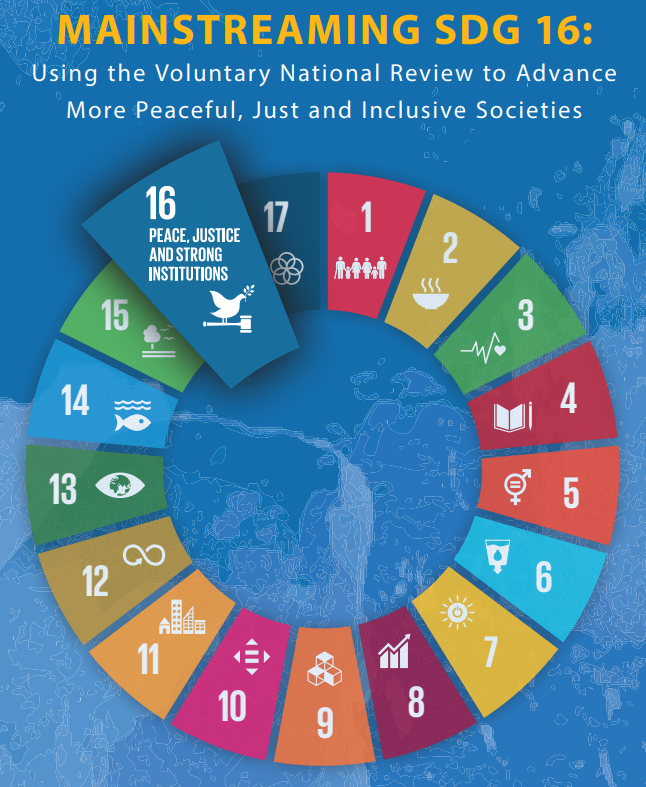 Mainstreaming SDG 16 Resource Launch